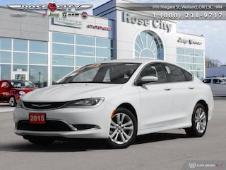 2015 Chrysler 200 Chrylser 200 Limite Bluetooth - low Mileage Sedan