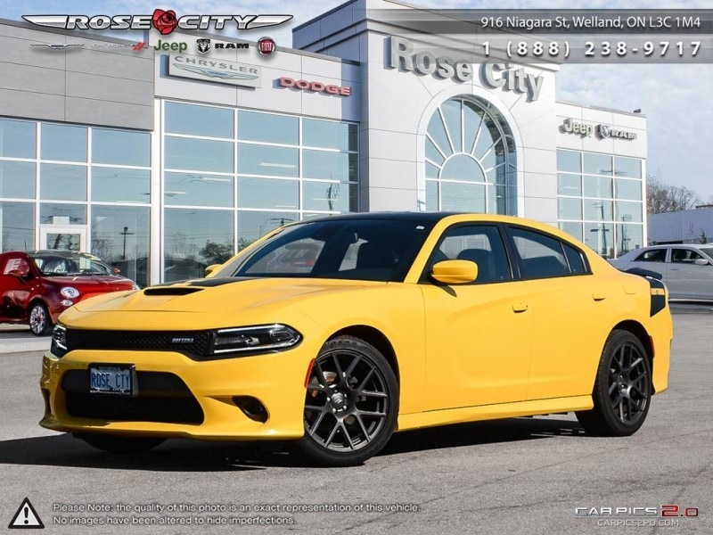 2017 Dodge Charger R/T Daytona Edition Leather Heated and Cooled Seat Sedan