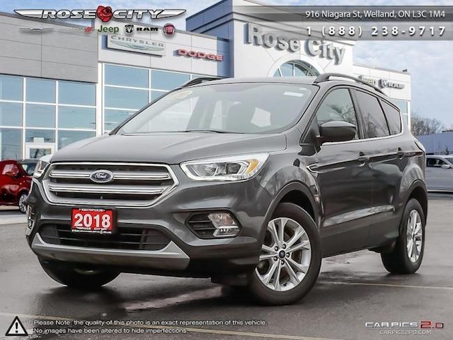 2018 Ford Escape SEL Leather Heated Seats - Bluetooth SUV
