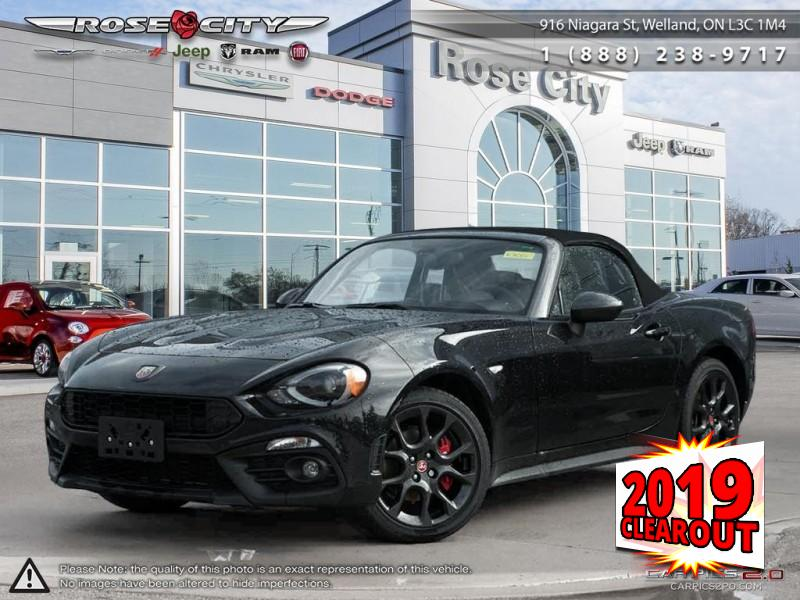 2019 FIAT 124 Spider Abarth Convertible - Leather Seats Convertible