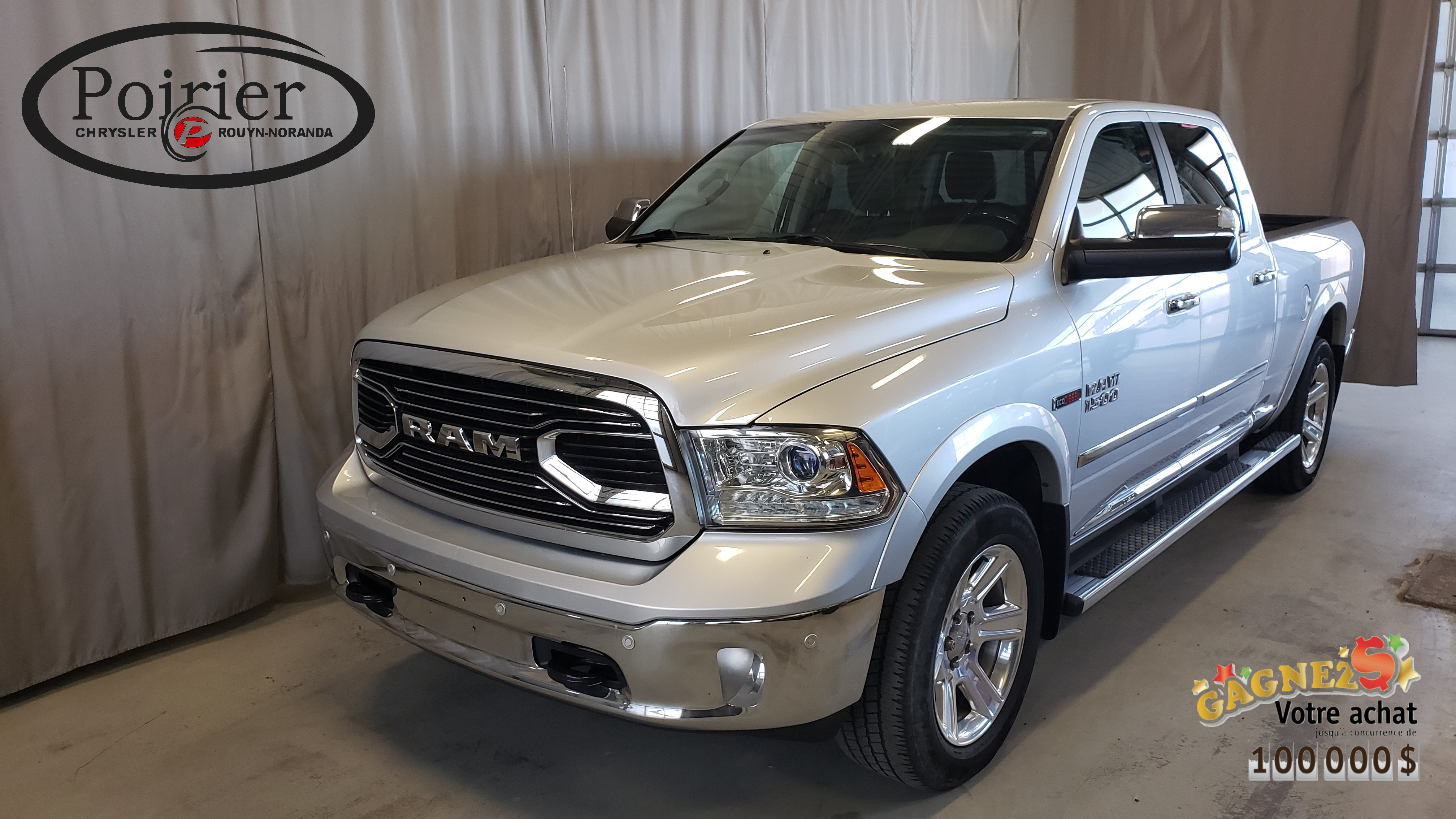 2015 Ram 1500 Laramie Limited luxe et economie Pickup - Crew Cab