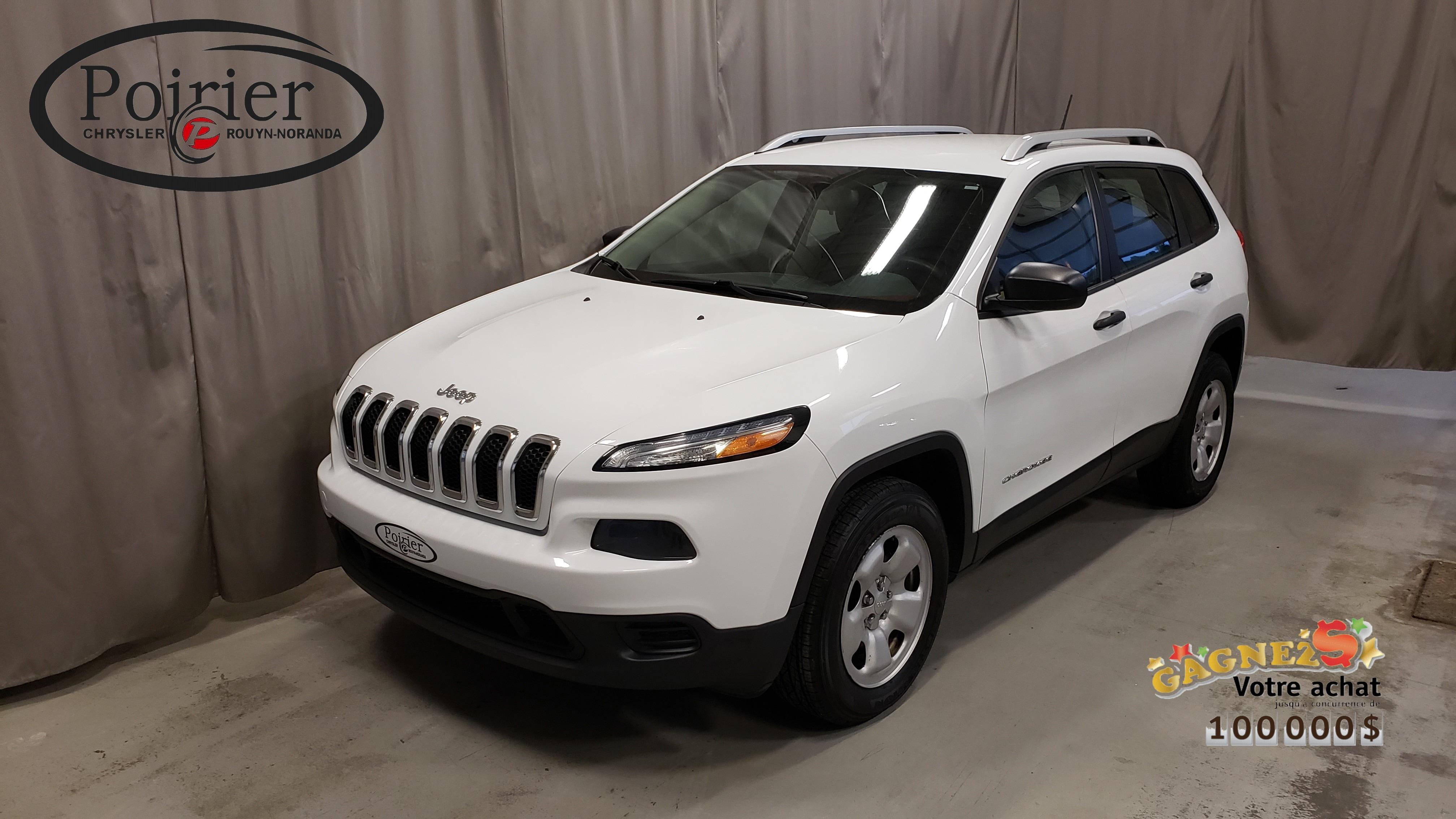 2015 Jeep Cherokee Sport VUS