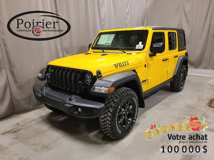 2021 Jeep Wrangler Unlimited Willys VUS