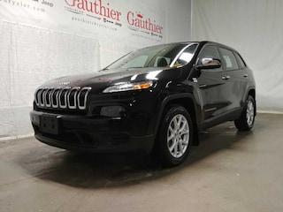 Used 2014 Jeep Cherokee Sport - Bluetooth -  Power Windows SUV R12369 for sale in Winnipeg, MB