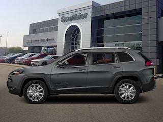 Used 2016 Jeep Cherokee Limited - Leather Seats -  Bluetooth SUV Q826A for sale in Winnipeg, MB