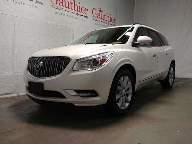 Used 2015 Buick Enclave Premium - Leather Seats -  Cooled Seats SUV for sale in Winnipeg, MB