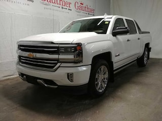 Used 2018 Chevrolet Silverado 1500 High Country - Navigation Crew Cab P409A for sale in Winnipeg, MB