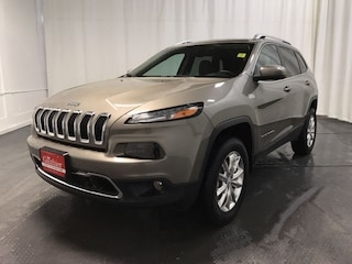 Used 2017 Jeep Cherokee Limited - Leather Seats -  Bluetooth SUV R12804A for sale in Winnipeg, MB
