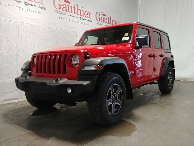 New 2018 Jeep All-New Wrangler Unlimited Sport S SUV in Winnipeg, MB