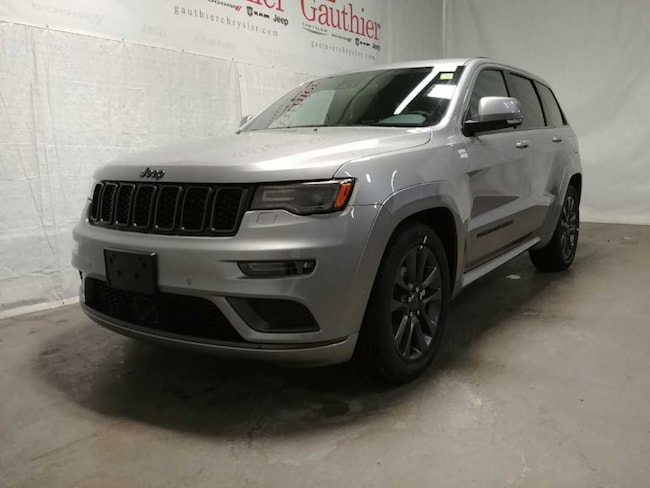 New 2019 Jeep Grand Cherokee High Altitude SUV in Winnipeg, MB