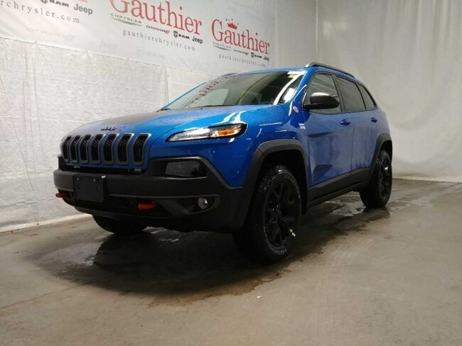 New 2018 Jeep Cherokee Trailhawk Leather Plus SUV in Winnipeg, MB