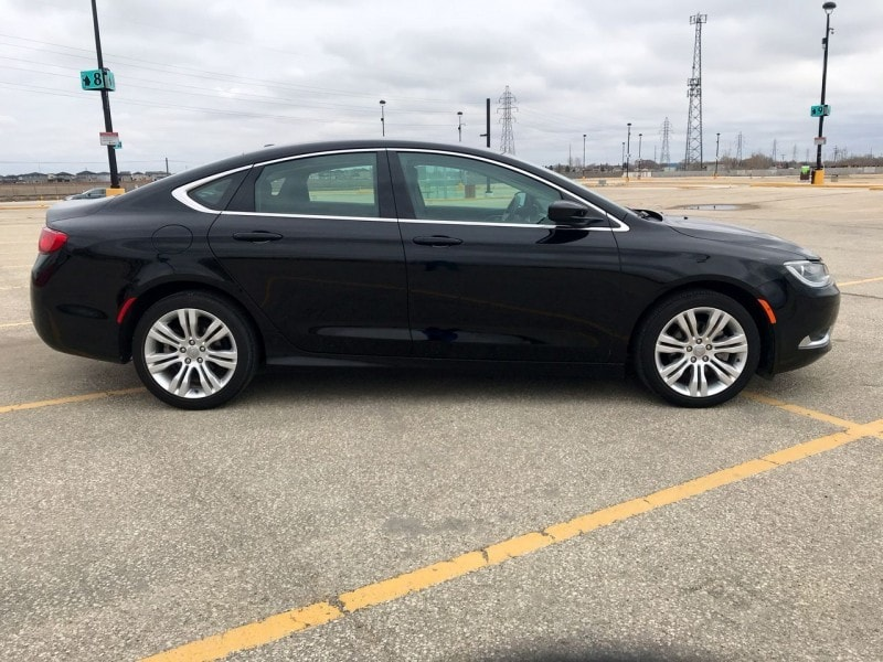 2016 Chrysler 200 Limited - Uconnect -  Power Seat Berline