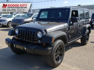 2014 Jeep Wrangler Unlimited Sport Willys 4x4 | Btooth, SXM, Tow Pkg Convertible
