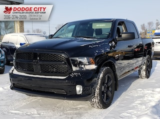 New 2019 Ram 1500 Classic Express Night | 4x4 | Crew Cab | 5.7 Box for sale/lease in Saskatoon, SK
