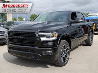 New 2019 Ram All-New 1500 Laramie Black | 4x4 | Crew Cab | 5.7 Box for sale/lease in Saskatoon, SK