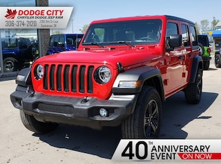 New 2019 Jeep Wrangler Sport | 4x4 for sale/lease in Saskatoon, SK
