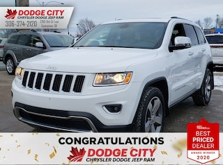 2015 Jeep Grand Cherokee Limited 4x4 | Leather, Btooth, Sunroof Sport Utility