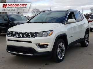 New 2020 Jeep Compass Limited | 4x4 for sale/lease in Saskatoon, SK