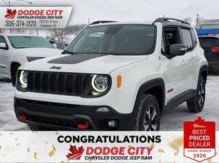 New 2020 Jeep Renegade Trailhawk | 4x4 for sale/lease in Saskatoon, SK