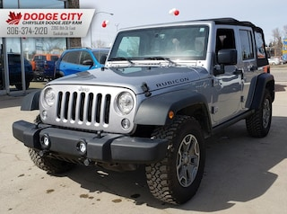 2018 Jeep Wrangler JK Unlimited Rubicon 4x4 | Htd.Leather, BTooth, Nav SUV