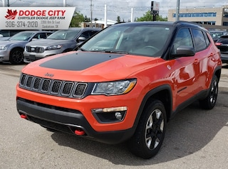 2018 Jeep Compass Trailhawk 4x4 | Htd.Seats, Rem.Start, Bup Cam Sport Utility