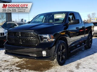 Used 2016 Ram 1500 Black Express | B/U Cam, Btooth, A/C Crew Cab Pickup 1C6RR7FG4GS275581 for sale in Saskatoon, SK