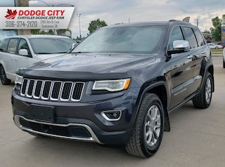 2016 Jeep Grand Cherokee Limited 4x4 | Nav, Leather, SRoof Sport Utility