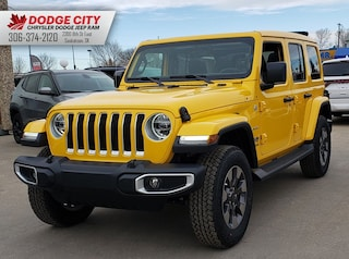 New 2020 Jeep Wrangler Sahara | 4x4 for sale/lease in Saskatoon, SK