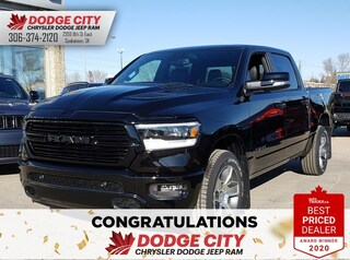 New 2020 Ram 1500 Sport | 4x4 | Crew Cab | 5.7 Box for sale/lease in Saskatoon, SK