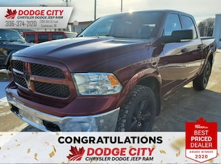 Used 2016 Ram 1500 Outdoorsman | B/U Cam, Dual Temp, Rem.Start Crew Cab Pickup 1C6RR7LM3GS284878 for sale in Saskatoon, SK