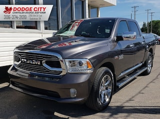 2017 Ram 1500 Laramie Limited | Bup Cam, Htd/Vnt Leather, SRoof Crew Cab Pickup