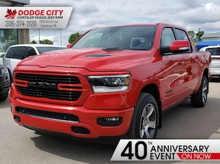New 2019 Ram All-New 1500 Sport | 4x4 | Crew Cab | 57 Box for sale/lease in Saskatoon, SK