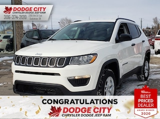 New 2020 Jeep Compass Sport | 4x4 for sale/lease in Saskatoon, SK