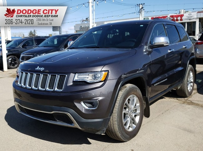 Used 2015 Jeep Grand Cherokee Limited 4X4   Htd.Leather, SRoof, Nav Sport Utility in Saskatoon, SK