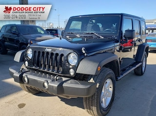 2015 Jeep Wrangler Unlimited Sport S 4x4 | SXM, BTooth, Pwr Grp SUV