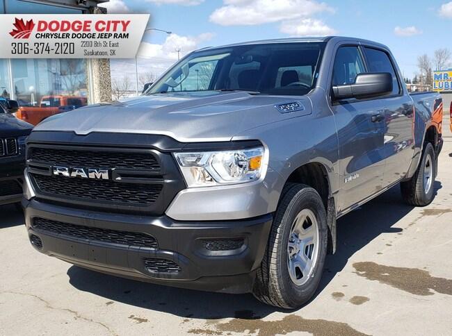 New 2019 Ram 1500 Tradesman | Bup Cam, BTooth, A/C Crew Cab Pickup For Sale/Lease Saskatoon SK