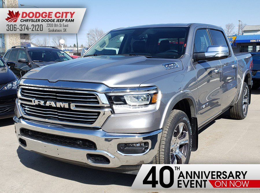 2019 Ram All-New 1500 Laramie   4x4   Crew Cab   57 Box Truck Crew Cab