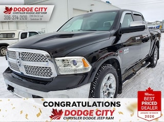 Used 2015 Ram 1500 Laramie | 4x4, Crew Cab, Htd. Seats, Crew Cab Pickup 1C6RR7NM7FS549328 for sale in Saskatoon, SK