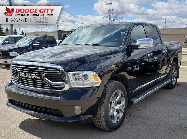 Used 2017 Ram 1500 Limited | Nav, Htd.Leather, Bup Cam Crew Cab Pickup in Saskatoon, SK
