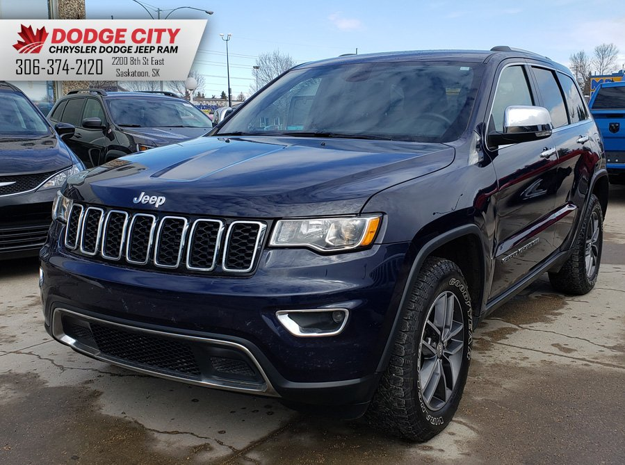 2017 Jeep Grand Cherokee Limited 4x4 | Dual Temp, Htd.Leather, Bup Cam Sport Utility