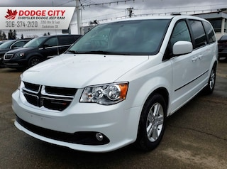 2017 Dodge Grand Caravan Crew Plus | Htd.Leather, BTooth, SXM Mini-van, Passenger