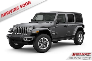 New 2020 Jeep Wrangler Sahara Altitude | 4x4 for sale/lease in Saskatoon, SK