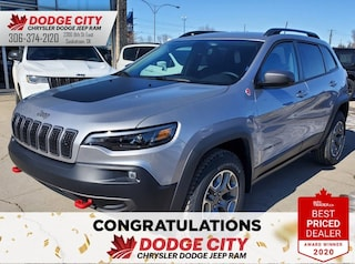 New 2020 Jeep Cherokee Trailhawk | 4x4 for sale/lease in Saskatoon, SK