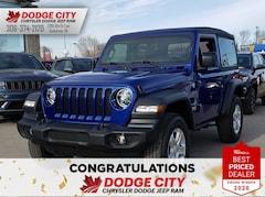 2020 Jeep Wrangler Sport S | 4x4 SUV