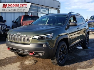 New 2020 Jeep Cherokee Trailhawk Elite | 4x4 for sale/lease in Saskatoon, SK