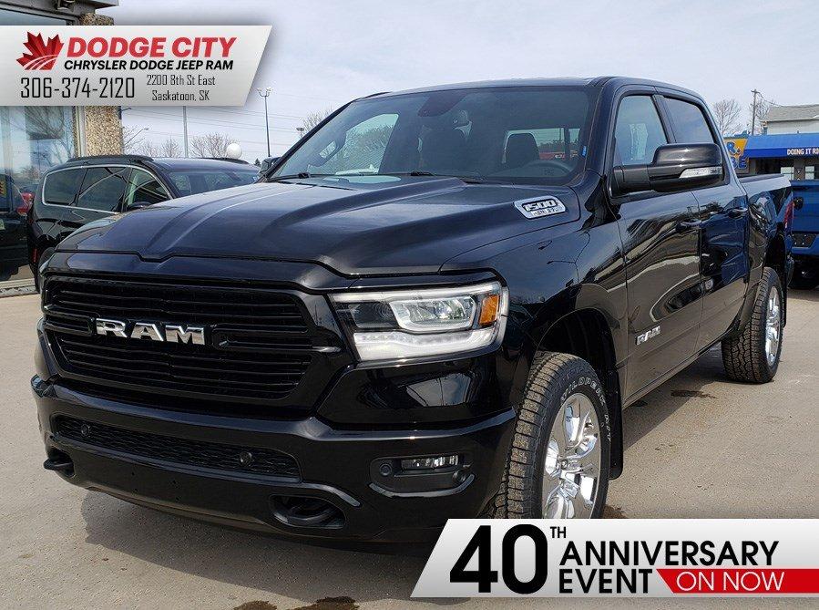 2019 Ram All-New 1500 Big Horn   4x4   Crew Cab   57 Box Truck Crew Cab