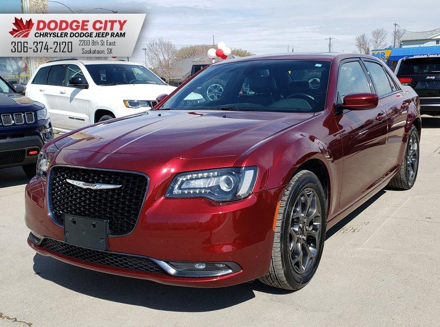 2018 Chrysler 300 300S AWD | Nav, Leather, Bluetooth 4dr Car