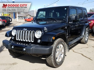 2017 Jeep Wrangler Unlimited Sahara 4x4 | SXM, Htd.Leather, Rem.Start Sport Utility