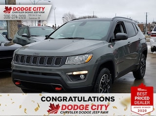 New 2020 Jeep Compass Trailhawk | 4x4 for sale/lease in Saskatoon, SK