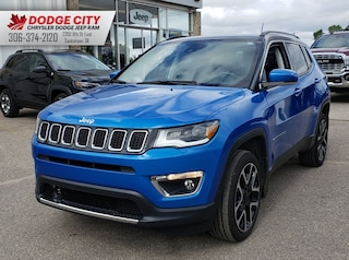 2018 Jeep Compass Limited | Leather, Sunroof, Nav Sport Utility